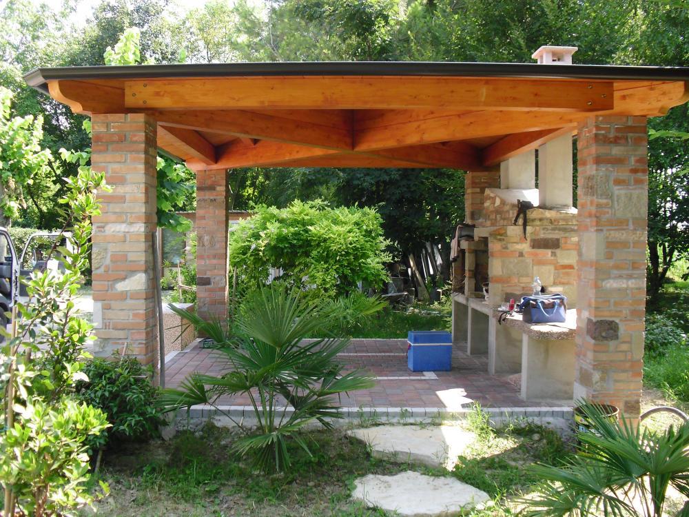 Pensiline artelegno tetti e gazebo napoli for Arredo giardino napoli